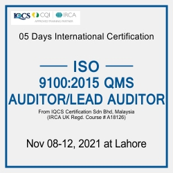 Lead Auditor ISO 9001:2015 QMS
